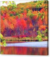 Autumn East Coast I Canvas Print