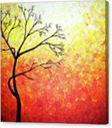 Autumn Evening Canvas Print