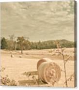 Autumn Farming And Agriculture Landscape Canvas Print
