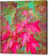 Autumn Flame Canvas Print