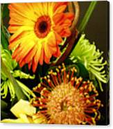 Autumn Flower Arrangement Canvas Print