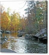 Autumn Flows Toward Winter Canvas Print