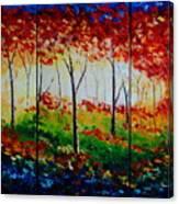 Autumn Glade Canvas Print