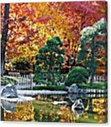 Autumn Glow In Manito Park Canvas Print