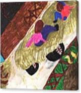 Autumn Hayride Canvas Print