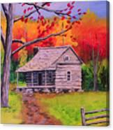 Autumn Home Canvas Print