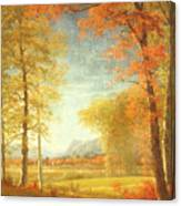 Autumn In America Canvas Print