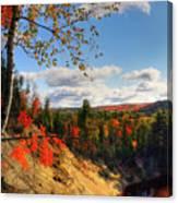 Autumn In Arrowhead Provincial Park Canvas Print