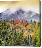 Autumn In Baxter State Park Maine Canvas Print