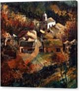 Autumn In Frahan Canvas Print