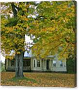 Autumn In Franklin Canvas Print