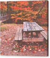 Autumn In High Bridge Canvas Print