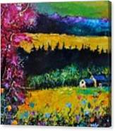Autumn In Lissoir  Canvas Print