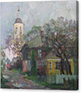 Autumn In Old City Canvas Print