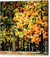 Autumn In Olde Virginia Canvas Print