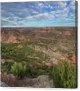 Autumn In Palo Duro Canyon, Texas 1 Canvas Print