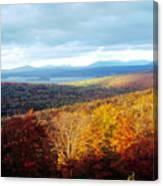 Autumn In Rangeley Canvas Print
