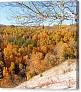 Autumn In Riding Mtn National Park Canvas Print