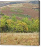 Autumn In Slope County Canvas Print