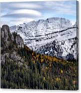 Autumn In Switzerland Canvas Print