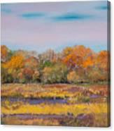 Autumn In The Adirondack Mountains Canvas Print