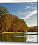 Autumn In The Hill Country Canvas Print