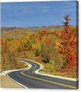 Autumn In The Hockley Valley Canvas Print