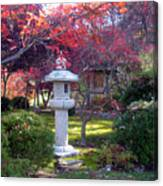 Autumn in the Japanese Garden Canvas Print