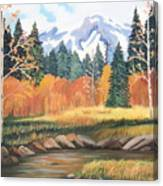 Autumn In The Mountans Canvas Print