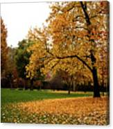 Autumn In Turin, Italy Canvas Print