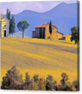 Autumn In Tuscany Canvas Print
