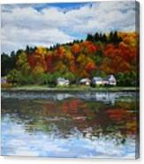 Autumn In Vermont  Canvas Print