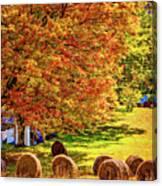Autumn In West Virginia Canvas Print