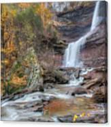 Autumn Kaaterskill Falls Square Canvas Print