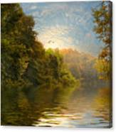 Autumn Kissed Canvas Print
