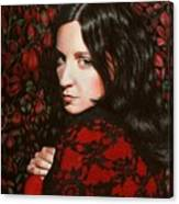 Autumn Lace II Canvas Print