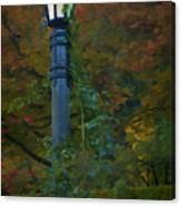 Autumn Lamp Canvas Print