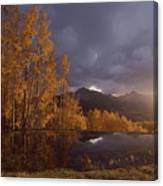 Autumn Landscape Near Telluride Canvas Print
