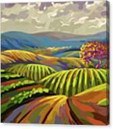 Autumn Lanscape Canvas Print