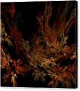 Autumn Leaf Dance Canvas Print