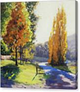 Autumn Light Tarana Canvas Print