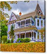 Autumn Mansion Canvas Print