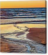 Autumn Merging - Sauble Beach 6 Canvas Print