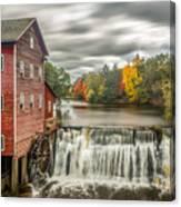 Autumn Mill Canvas Print