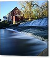 Autumn Mill Portrait Canvas Print