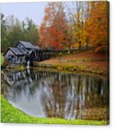 Autumn Mill Canvas Print