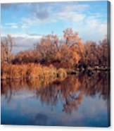 Autumn Mirror Canvas Print