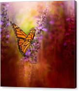 Autumn Monarch Canvas Print