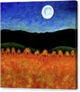 Autumn Moon I Canvas Print