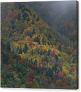 Autumn Mountains Canvas Print